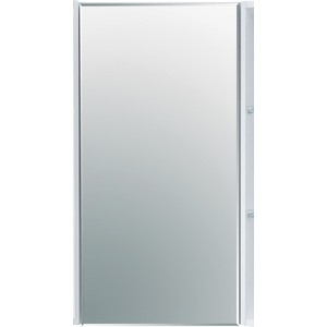 Зеркальный шкаф Акватон Кантара 42 дуб полярный (1A205702ANW70)