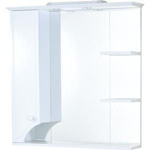 Зеркало-шкаф Акватон Элен 85 механизм доводчика, с подсветкой белый (1A218802EN010)