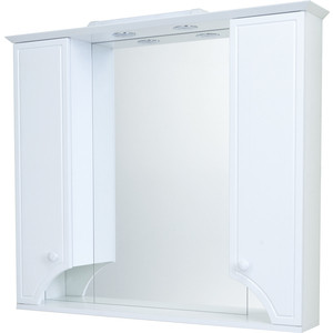Зеркало-шкаф Акватон Элен 95 белый с подсветкой (1A218602EN010)
