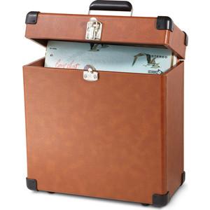 Кейс для хранения винила CROSLEY CR401-TA tan (вместимость 30+ альбомов)