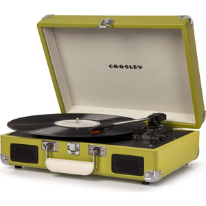 Виниловый проигрыватель CROSLEY CRUISER DELUXE [CR8005D-GR] фисташковый c Bluetooth виниловый проигрыватель crosley cruiser deluxe [cr8005d tu] turquoise c bluetooth