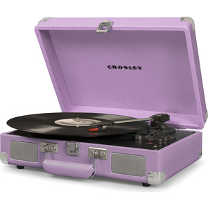 Виниловый проигрыватель CROSLEY CRUISER DELUXE [CR8005D-LA] lavender c Bluetooth