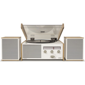 Виниловый проигрыватель CROSLEY SWITCH II [CR6034A-NA] c Bluetooth и FM-AM с двумя колонками studebaker sb6052 wooden turntable with am fm radio