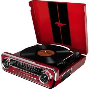 Виниловый проигрыватель Ion MUSTANG LP с радио [red]