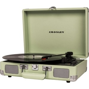 Виниловый проигрыватель CROSLEY CRUISER DELUXE [CR8005D-MT] mint c Bluetooth