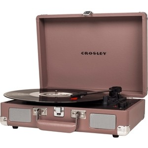 Виниловый проигрыватель CROSLEY CRUISER DELUXE [CR8005D-PS] pupple ash c Bluetooth