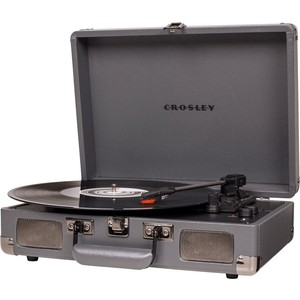 Виниловый проигрыватель CROSLEY CRUISER DELUXE [CR8005D-SG] slate c Bluetooth