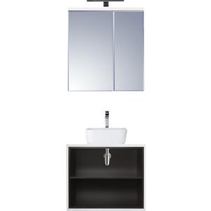 Мебель для ванной Акватон Брук 60 с 2 ящиками, дуб феррара