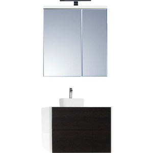 Мебель для ванной Акватон Брук 80 с 2 ящиками, дуб феррара
