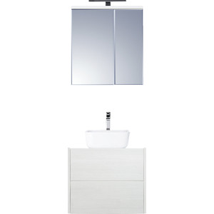 Мебель для ванной Акватон Брук 60 с 2 ящиками, дуб латте
