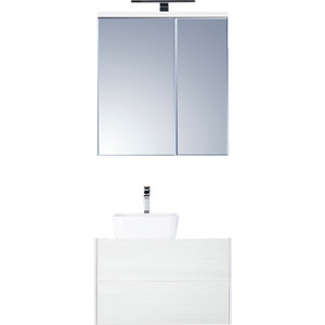 Мебель для ванной Акватон Брук 80 с 2 ящиками, дуб латте