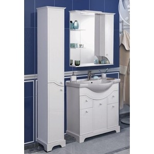 где купить Мебель для ванной Акватон Элен 85 белый по лучшей цене