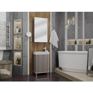 Мебель для ванной Акватон Эмма 45 белый/ дуб наварра