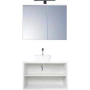Мебель для ванной Акватон Брук 80 дуб латте мебель алаванн латте 100
