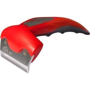 Фурминатор FoOLee One Medium 6,5см красный для кроликов, кошек и собак средних пород цена и фото