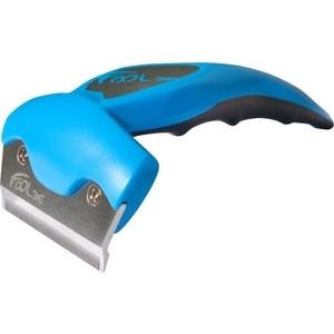 Фурминатор FoOLee One Medium 6,5см синий для кроликов, кошек и собак средних пород