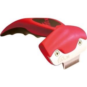Фурминатор FoOLee One XS 3,1см красный для кроликов, кошек и собак карликовых пород цена и фото