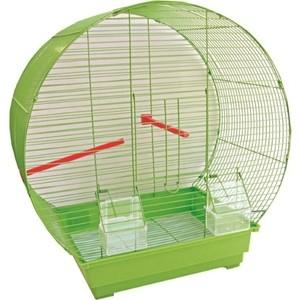 Клетка N1 47х27х50см прямоугольный поддон, верх круглый для птиц (ДКп416)