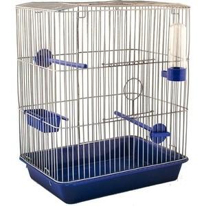 Клетка N1 33х24х40см канарейка, цветная, укомплектованная для птиц (РПК31)