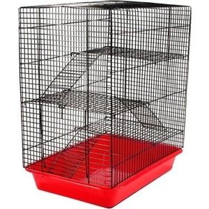 Клетка N1 33х24х38 см 3 этажа для грызунов (РПК21)