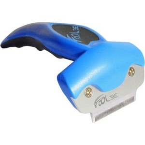 Фурминатор FoOLee One Small 4,5см синий для кроликов, кошек и собак мелких пород цена и фото