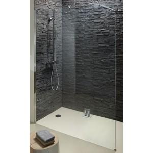 Душевое ограждение Jacob Delafon Contra 120x200 стекло прозрачное, профиль хром (E22W120-GA) цена и фото