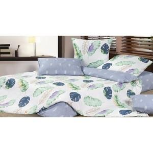 цена Комплект постельного белья Ecotex семейный, сатин Гармоника Гавайи (4650074959078) онлайн в 2017 году