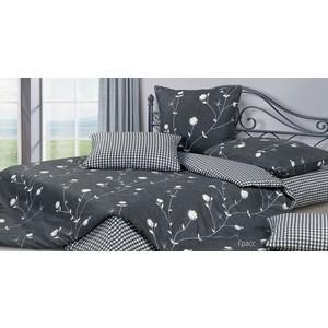 Комплект постельного белья Ecotex семейный, сатин Гармоника Грасс (4650074958057)