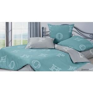 цена Комплект постельного белья Ecotex евро, сатин Гармоника Демпси (4650074958989) онлайн в 2017 году
