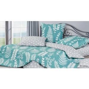 Комплект постельного белья Ecotex евро, сатин Гармоника Флорида (4650074957968) цена