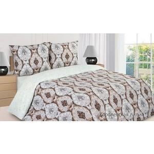 Комплект постельного белья Ecotex 2 сп, поплин Поэтика Королевская лилия (4650074956008)