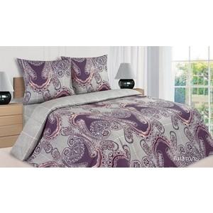 цена Комплект постельного белья Ecotex евро, поплин Поэтика Анатоль (4650074956831) онлайн в 2017 году