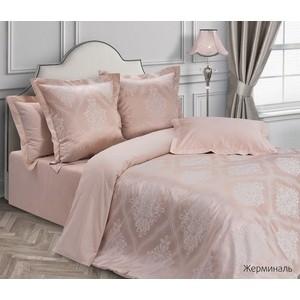 цена Комплект постельного белья Ecotex семейный, сатин-жаккард Эстетика Жерминаль (4650074957050) онлайн в 2017 году