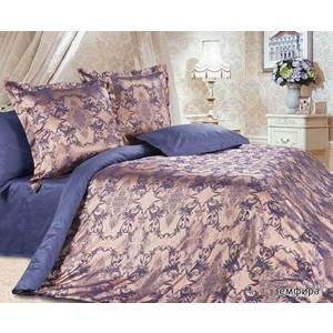 Комплект постельного белья Ecotex 2 сп, сатин-жаккард Эстетика Земфира (4607132578009) фото