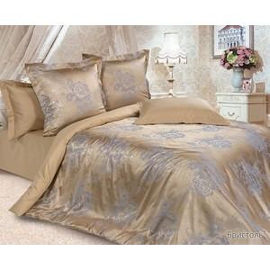Комплект постельного белья Ecotex семейный, сатин-жаккард Эстетика Бристоль (4680017867078)