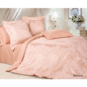 Комплект постельного белья Ecotex семейный, сатин-жаккард Эстетика Жизель (4607132579778) моя жизель dvd