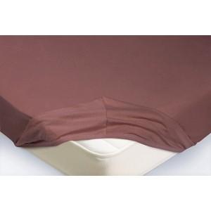 Простынь на резинке Ecotex 160x200x20 лиловый (4650074959306)