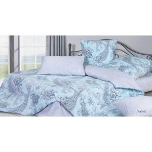 Комплект постельного белья Ecotex семейный, сатин Гармоника Льюис (4660054341007)