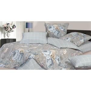 цена Комплект постельного белья Ecotex евро, сатин Гармоника Марчелло (4660054340956) онлайн в 2017 году