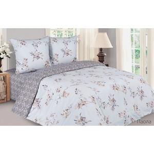 цена Комплект постельного белья Ecotex семейный, поплин Поэтика Паола (4650074959863) онлайн в 2017 году