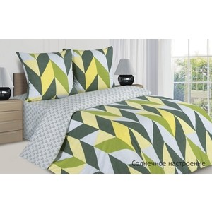 Комплект постельного белья Ecotex 1,5 сп, поплин Поэтика Солнечное настроение (4660054341977)