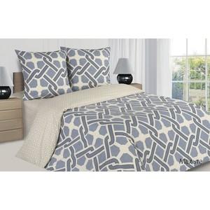 цена Комплект постельного белья Ecotex семейный, поплин Поэтика Мальта (4660054341786) онлайн в 2017 году