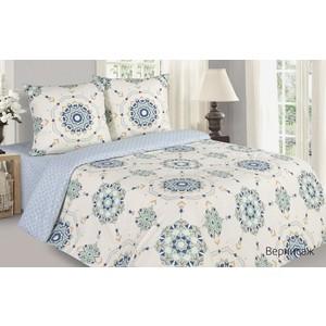 Комплект постельного белья Ecotex евро, поплин Поэтика Вернисаж (4660054341410)