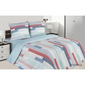 Комплект постельного белья Ecotex евро, поплин Поэтика Голливуд (4660054342356) комплект постельного белья ecotex евро поплин романс кпрероманс