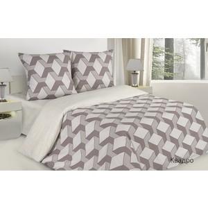 Комплект постельного белья Ecotex евро, поплин Поэтика Квадро (4660054341533)