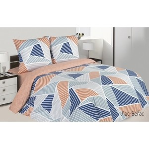 Комплект постельного белья Ecotex евро, поплин Поэтика Лас-Вегас (4660054341649)