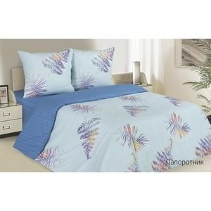 Комплект постельного белья Ecotex евро, поплин Поэтика Папоротник (4660054341885) папоротник