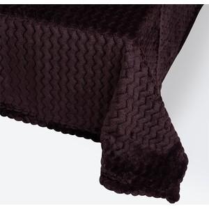 Плед Ecotex 180х200 темно-фиолетовый (4660054343148)
