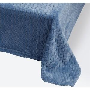 Плед Ecotex 200х220 голубой (4660054343063)
