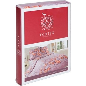 Комплект постельного белья Ecotex 2 сп, поплин Поэтика Флер де Лис (4650074956084) комплект постельного белья ecotex 1 5 сп поплин шарль кп1шарль